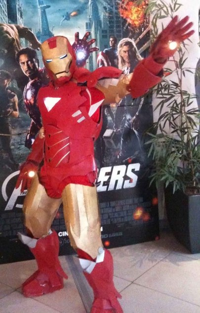 Avengers Premiere Cosplay